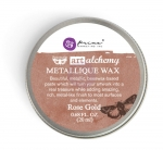 Metaliczna pasta wosk WAX - Rose Gold