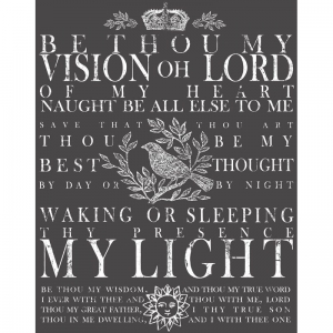 TRANSFER  - Be Thou My Vision XXL
