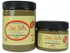 Glaze - van dyke brown  dixie belle