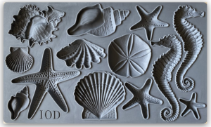 Forma do glinki - IOD mould - Sea Shells