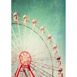 Papier decoupage - ferris wheel