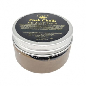 Posh Chalk smooth metaliczna pasta - deep gold