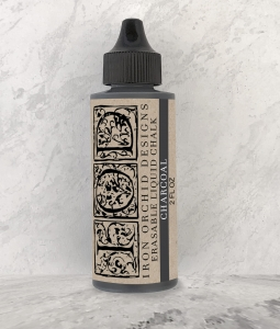 TUSZ DECOR INK IOD - charcoal