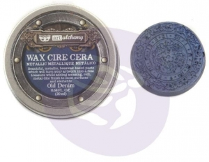 Metaliczna pasta wosk WAX -Old Denim