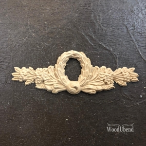 WoodUbend ornament laurel 17 x 6 cm