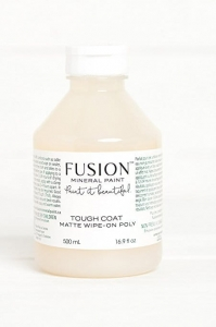 LAKIER - Tough Coat 500ml bezbarwny Clear FUSION Wipe On Poly