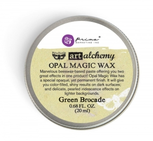 Pasta Opal Magic Wax wosk -Green Brocade